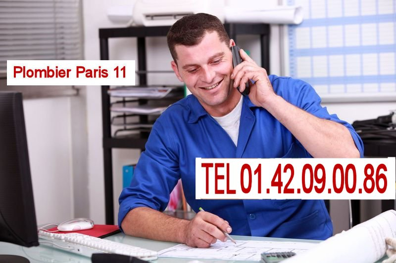 plombier Paris 11 contact